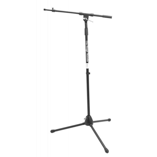 On Stage Stands - MS7701TB Euro Telescopic Boom Microphone Stand